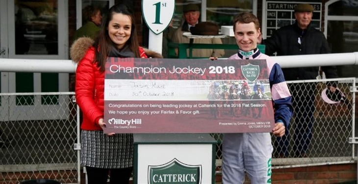 Local Jockey Has Hart Set On Another Successful Season at Catterick