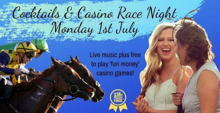 COCKTAILS & CASINO RACE NIGHT NEXT ON THE CARD AT CATTERICK RACES