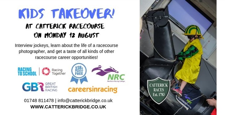 Kid's Takeover at Catterick...