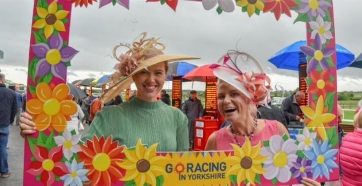 Catterick Races Leads the Way in the Style Stakes on Ladies' Day