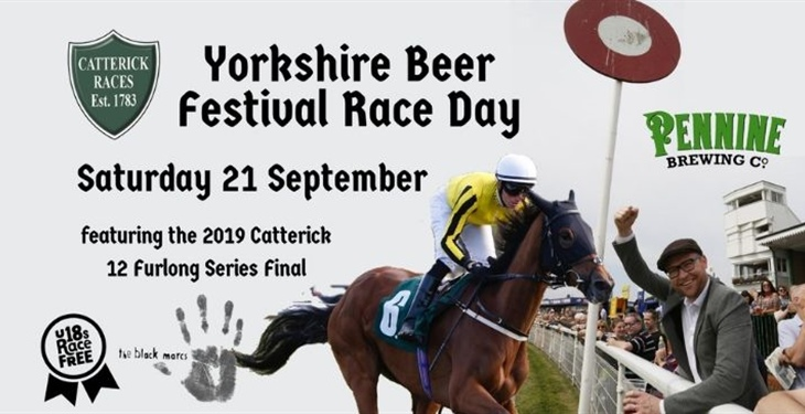 YORKSHIRE BEER FESTIVAL RETURNS TO CATTERICK RACECOURSE THIS MONTH