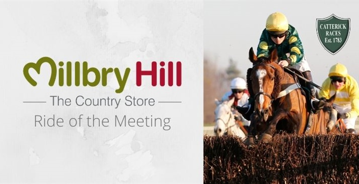 Millbry Hill Country Store Continue to Support Jockeys at Catterick Racecourse