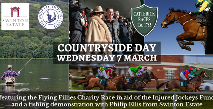 COUNTRYSIDE DAY ROUNDS UP THE NATIONAL HUNT SEASON AT CATTERICK RACECOURSE