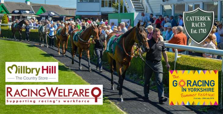 MILLBRY HILL SUPPORTS RACING WELFARE AND SUMMER FESTIVAL