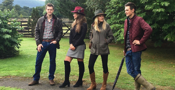 DRESSING FOR THE NATIONAL HUNT SEASON WITH MILLBRY HILL
