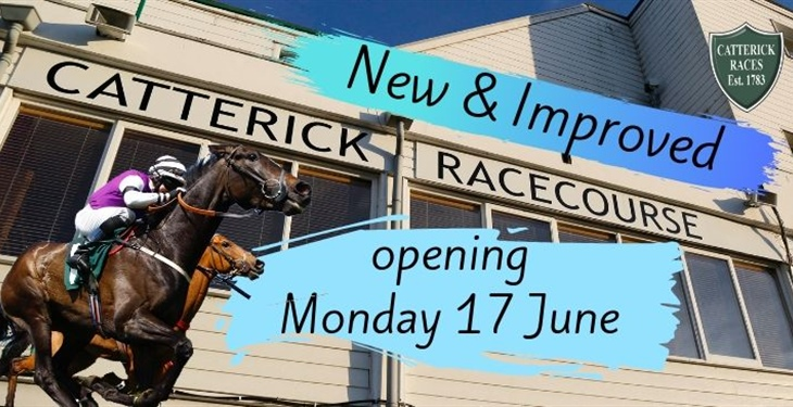Counting down to the return of racing at Catterick!