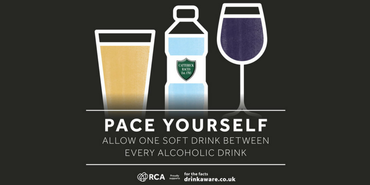 Pace yourself advert